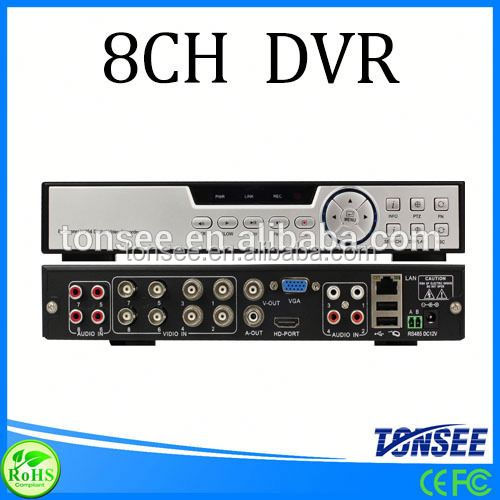 H264 8 channel dvr,cctv dvr motherboard, dvr with sim card