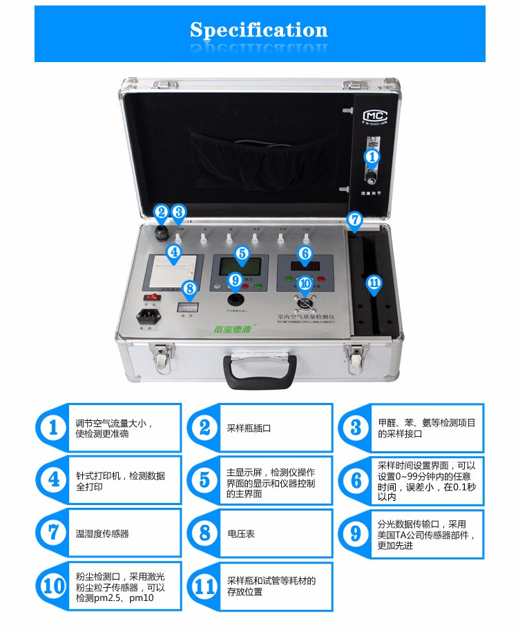 Test Ammonia Benzene Commercial Use Factory Price Ammonia Gas Detector