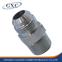 1JB JIC Male 74 Degree Cone/BSP Male Captive Seal Tube Adapter