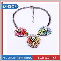 Famous Brand Best Selling New Design Crystal SHOUROK Necklace Jewelry