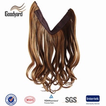 New design indian virgin hair straight style flip in hair extension