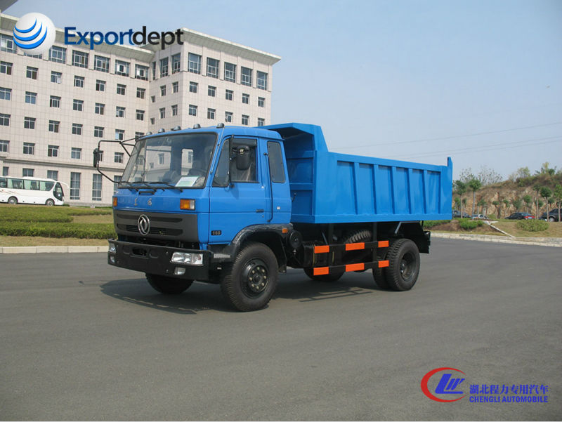8T new dump tipper lorry, diesel engine dumper truck