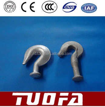 16mm and 70kn ball hook link fittings transmission line accessories