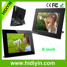 2014 high quality 7 digital frame photo frame sex video