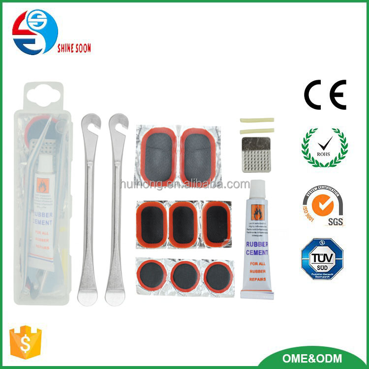 bicycle repair tools tire repair set