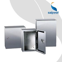 Saip/Saipwell China Supplier Electronic IP66 Outdoor Project Enclosure Box Stainless Steel Metal Weatherproof Enclosure