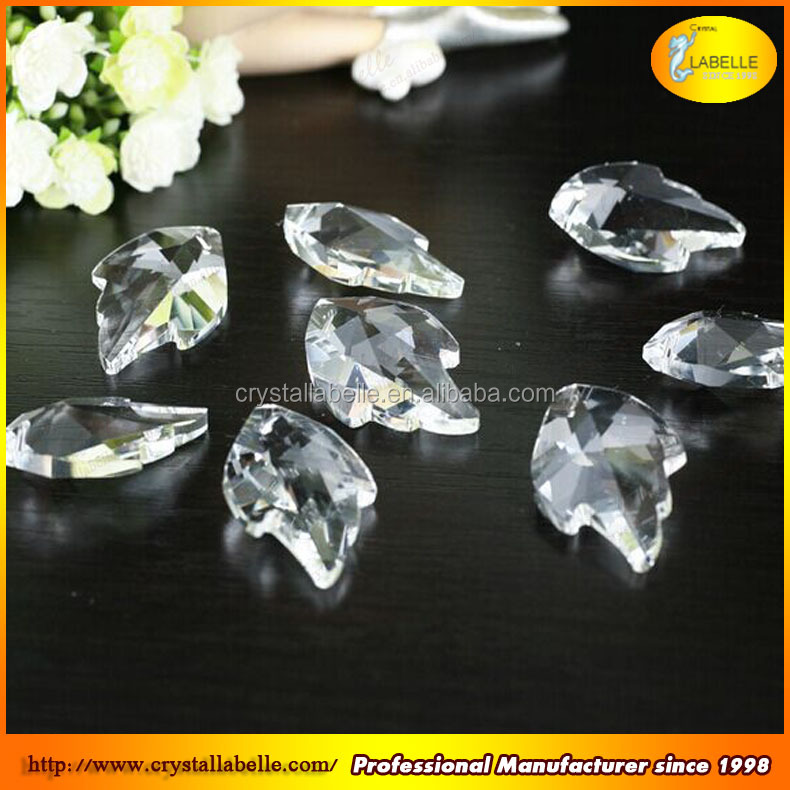 Glass Diamond Faceted Beads k9 Crystal Chandelier Parts