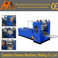 Automatic embossed face tissue slitting interfold facial paper machine cost