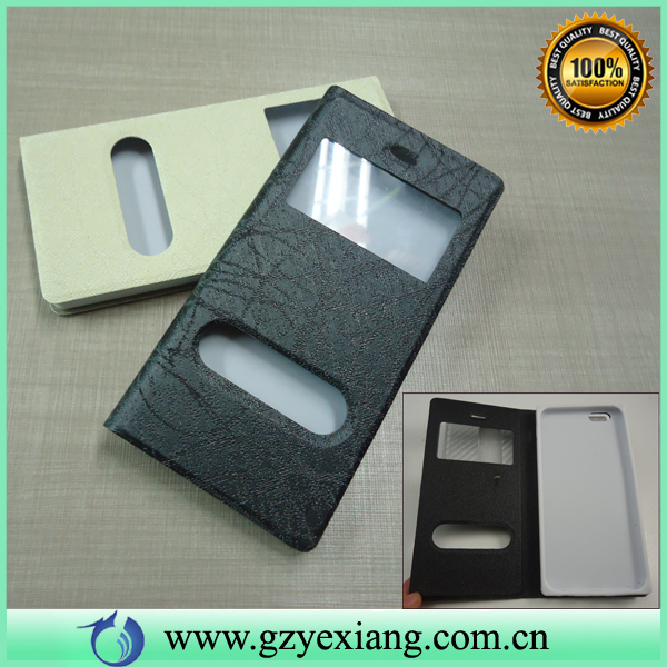 for samsung galaxy s3 mini window smart case flip cover for samsung s3 mini
