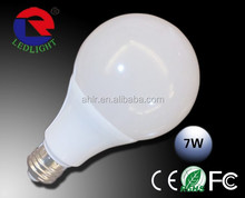 3 years warranty E27 base A19/A60 9w led bulb light,aluminum type led bulbs