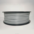 3D Printer Filament - Grey PLA 1.75 mm 2.2 lbs (1 kg) Spool by premium Quality | Dimensional Accuracy +/- 0.03 mm