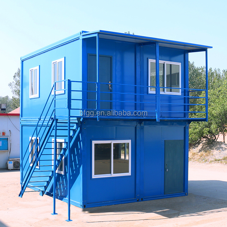 Building Construction Prefab Light Steel Structure Container House for Sale