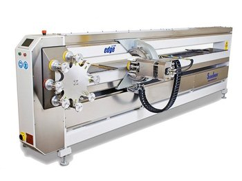 Edge profile and polishing machine
