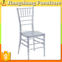 china high quality resin clear tiffany chairJC-AN84