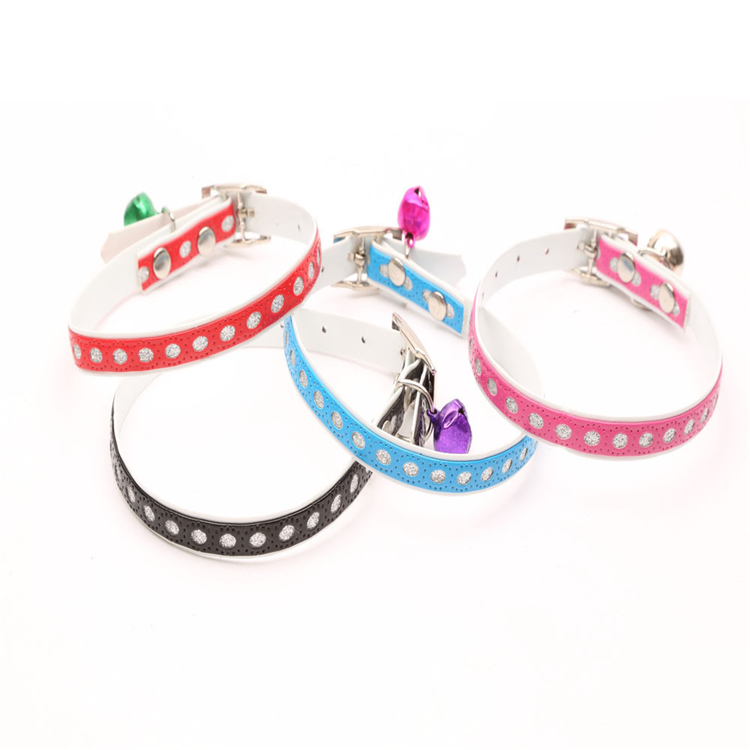 Dog Collar New Model PU Slippers Cat Collar Pet Supply