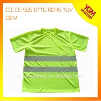 short sleeve high visibility t shirt for wholesale