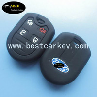 Topbest smart car key silicone case for ford smart key case