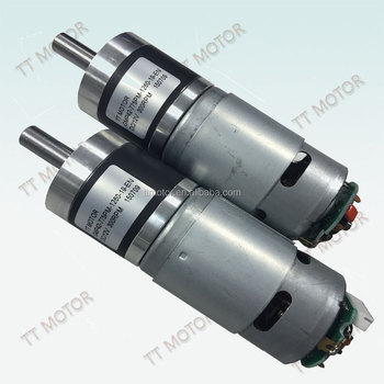 42mm dc planetary gear motor with 12v 2.0nm torque dc motor