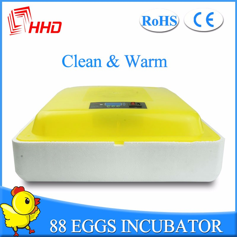 98% hatching rate Factory supplied Full automatic 96 chicken egg incubator YZ-96 CE approved