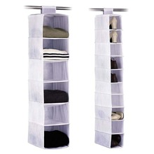 Household Essential 10-shelf Hanging Shoes&sweater organizer
