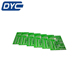 4 layer green solder mask pcb board and electronic components assembly