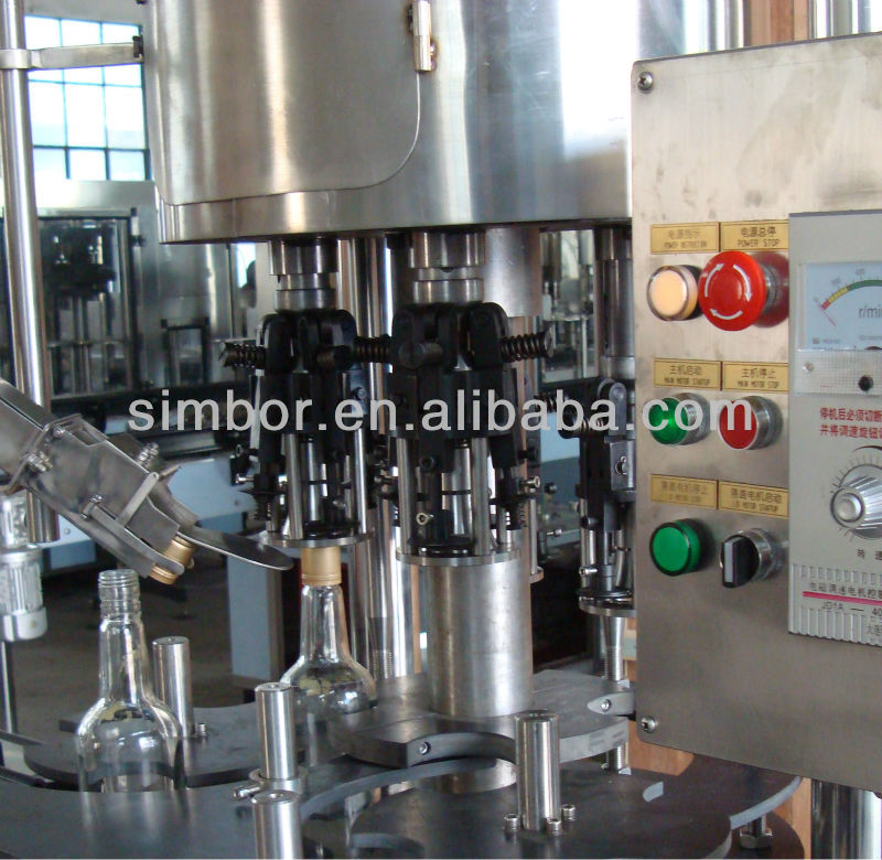 automatic wine glass bottle cap sealer machine