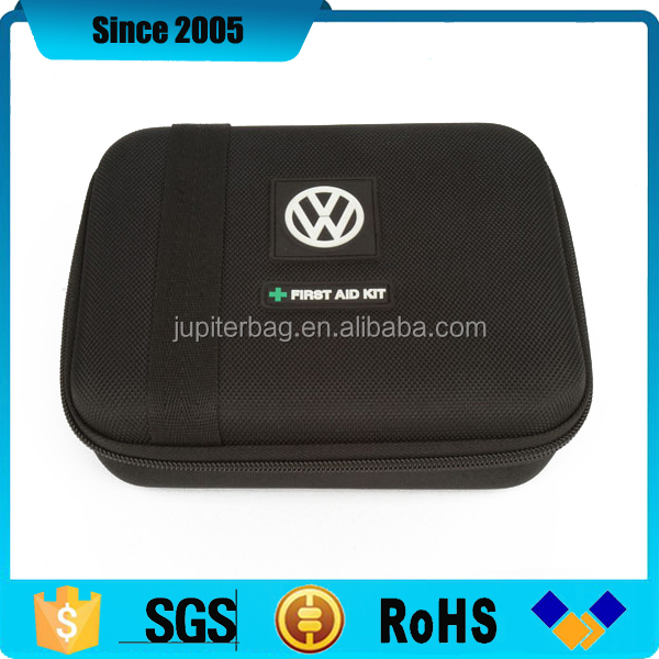 made in china car empty eva first aid kit box with pvc logo