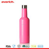 Everich Long Neck Sexy Pink Stainless Steel 750ml Wine Bottle