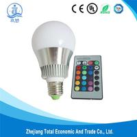 Brand new magic lighting led light bulb and remote made in China