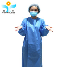 non woven ,pp SMS sterile hospital medical disposable surgical gown non woven manufacturers
