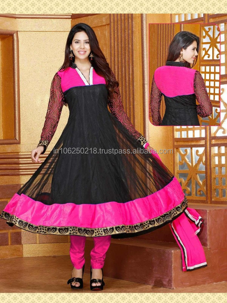 Designer indian pakistani heavy handwork anarkali suits R1259