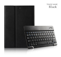 Hot selling Leather Bluetooth Keyboard Protective Case With Stand For ipad air 2 High Quality