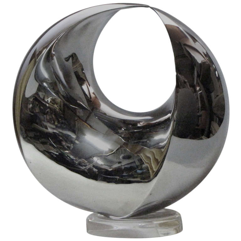 large outdoor garden decoration metal 304 sculpture stainless abstract