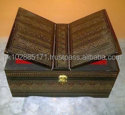 Handcrafted Wooden Box for Quran