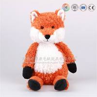 2016 new wholesale cute stuffed animal fox plush soft fox toy for kids