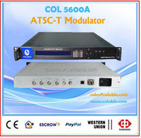updated models 4asi to rf dvbt modulator ,professional tv and radio station equipment COL5600