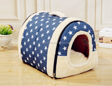 Cute Star Design Pet House Pet Bed Indoor Outdoor Great For Dogs Cats Small Animals in 3 Sizes