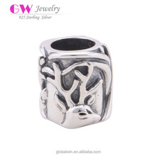 S925 Sterling Silver Animal Deer Charms