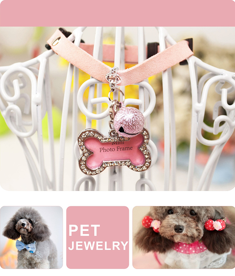 Pet Shop Hot Selling Colorful Cat Collar Dog Collar With Bell Products For Dogs Dog Accessories Wholesale