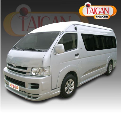 TOYOTA HIACE DRESS UP PACKAGE car