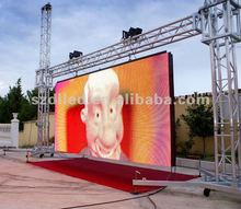 New invention light/thin cabinet flexible p6 outdoor led screen, Hot Products! High Quality