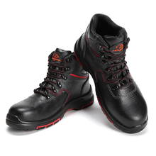 CE&TUV Industrial Leather Safety Shoes Heat Resistant High Ankle ESD Safety Shoes Heat Resistant