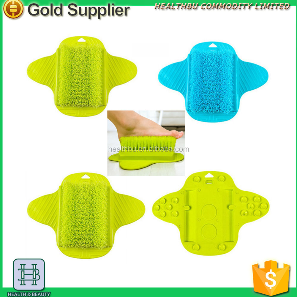 New item Foot Scrub Brush Exfoliating Feet Scrubber Spa for Shower