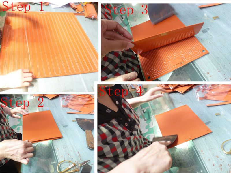 2014 New Industrial Silicone Rubber Heating Blankets Made In China