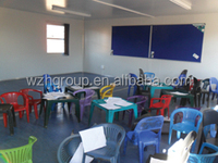Prefabricated classroom / modular house for dormitory school center camping