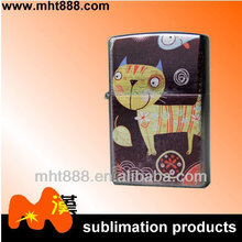 Sublimation blank cigarette lighter D02 8*7.6cm