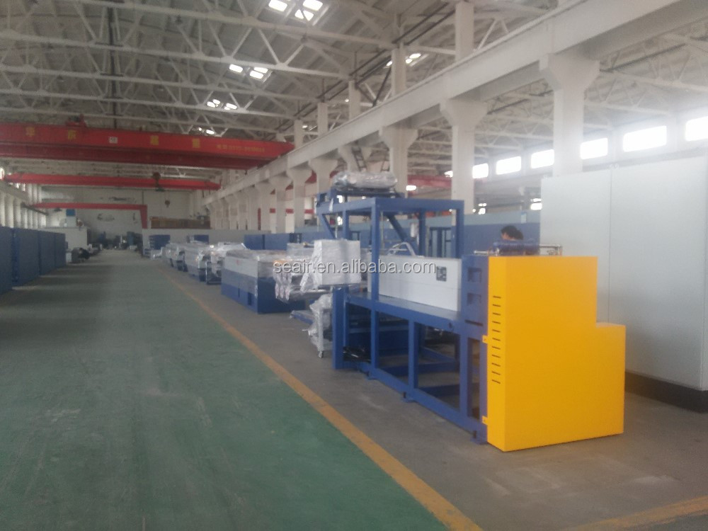 pvc plastic filament making extruding produced machi , Monofilament making machine, fishing net making machine