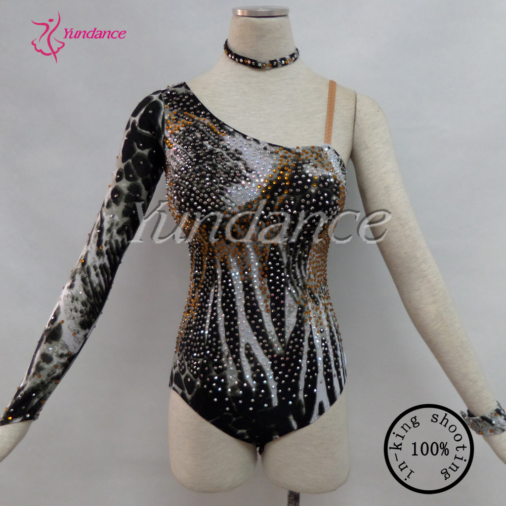 custom made spandex fabric gymnastics leotards HL208