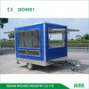 factory price. snack customized three windows food trailer
