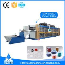 Thermoplastic Disposable Plastic Fruit Box Cup Thermoformer Making Machine